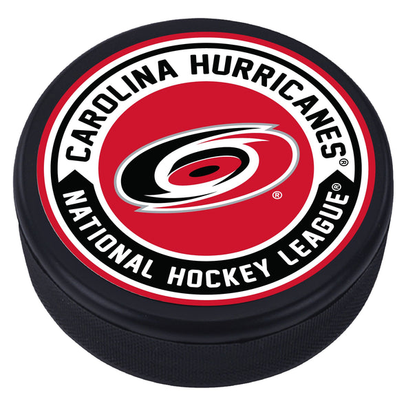 Carolina Hurricanes Arrow Textured Puck