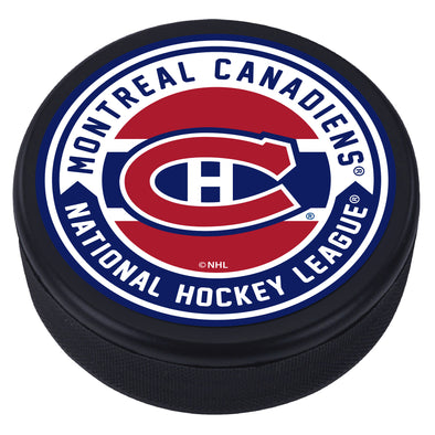 Montreal Canadiens Arrow Textured Puck