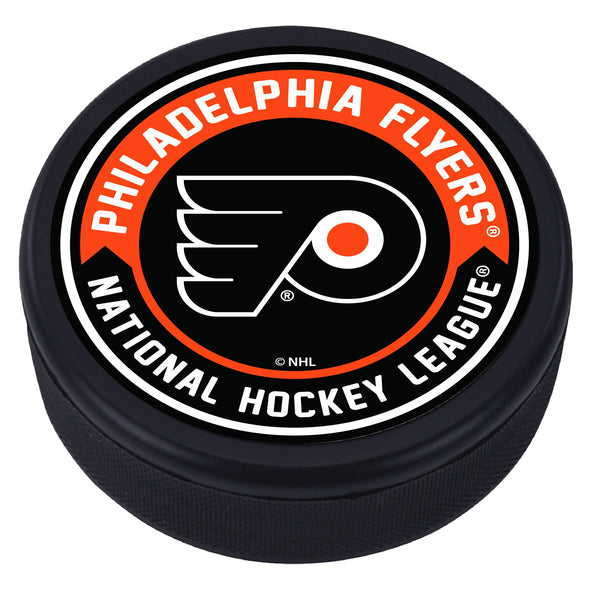 Philadelphia Flyers Arrow Textured Puck