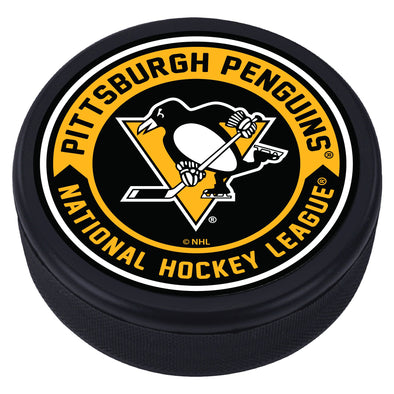 Pittsburgh Penguins Arrow Textured Puck