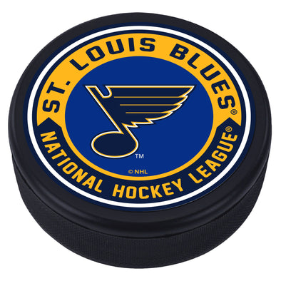 St. Louis Blues Arrow Textured Puck
