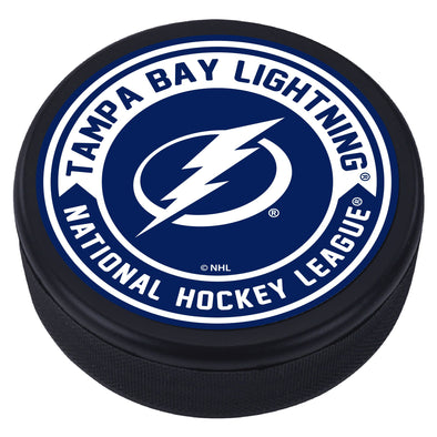 Tampa Bay Lightning Arrow Textured Puck