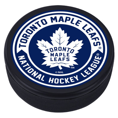 Toronto Maple Leafs Arrow Textured Puck