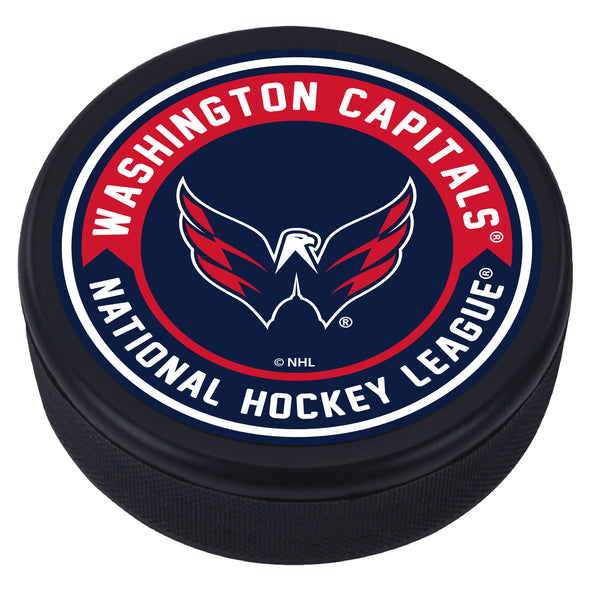 Washington Capitals  Arrow Textured Puck