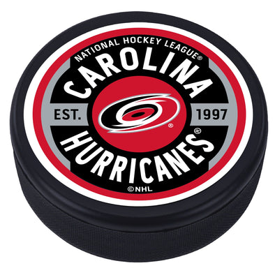 Carolina Hurricanes Gear Textured Puck