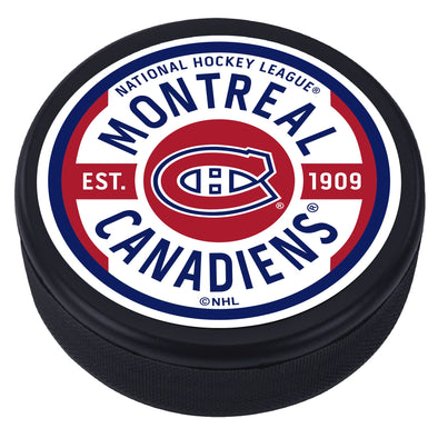 Montreal Canadiens Gear Textured Puck