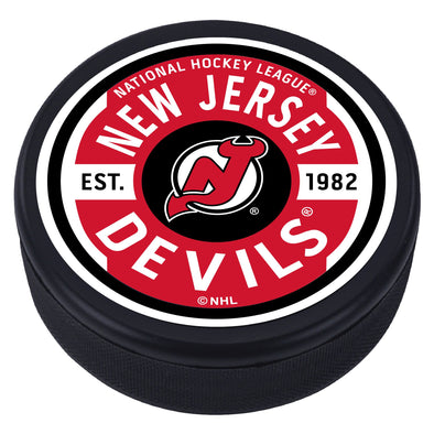 New Jersey Devils Gear Design Puck