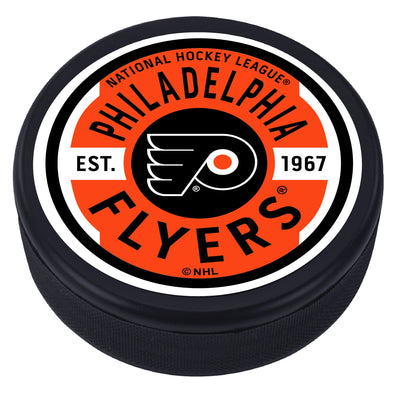 Philadelphia Flyers Gear Textured Puck