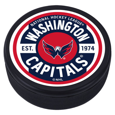 Washington Capitals  Gear Textured Puck
