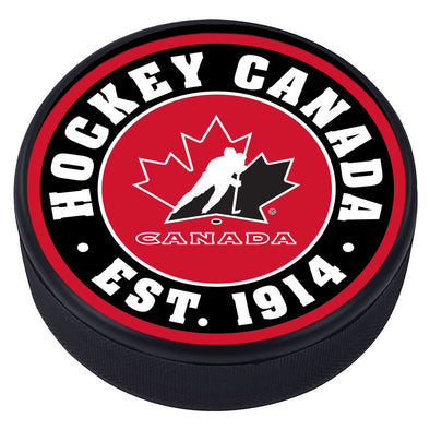 Team Canada Textured Puck - Established Design