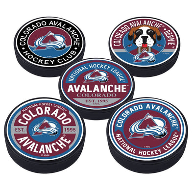 Colorado Avalanche 5 Puck Pack