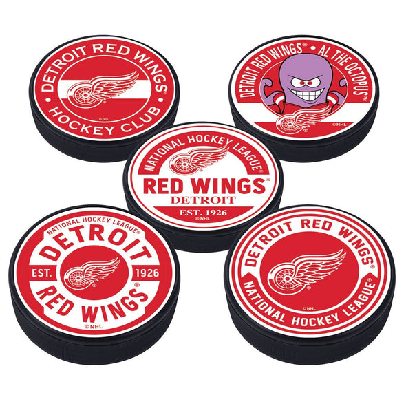 Detroit Red Wings 5 Puck Pack