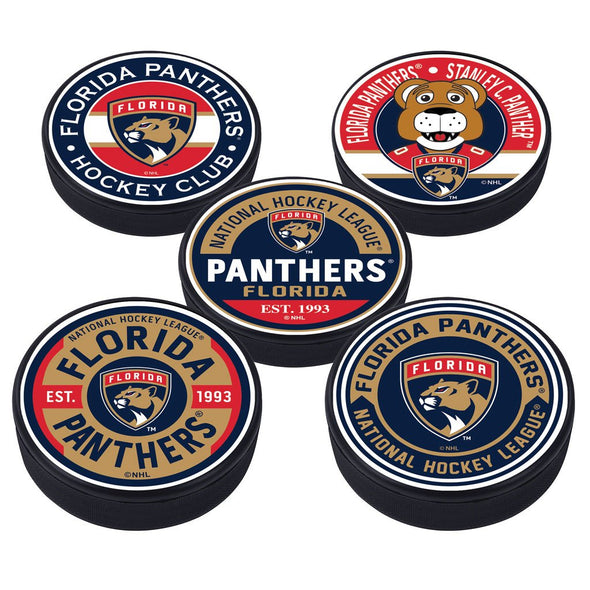 Florida Panthers 5 Puck Pack