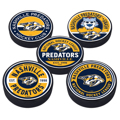 Nashville Predators 5 Puck Pack