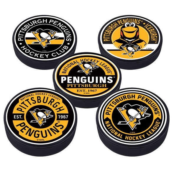 Pittsburgh Penguins 5 Puck Pack