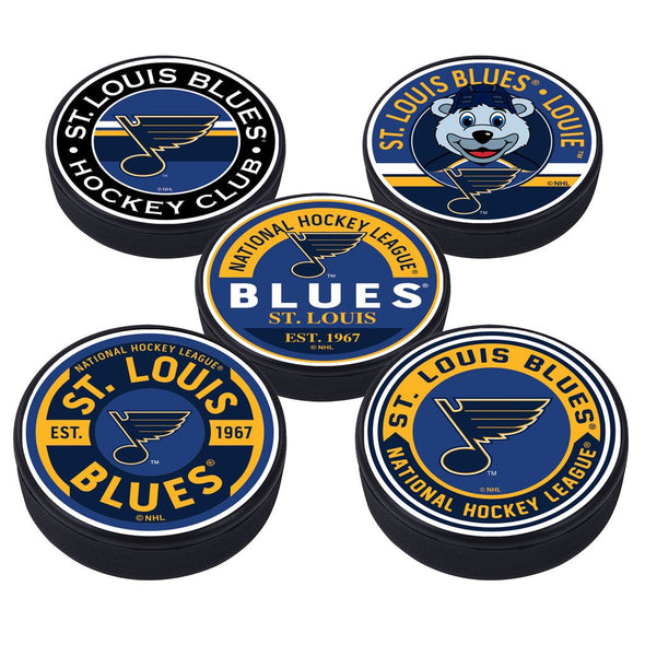 St. Louis Blues 5 Puck Pack