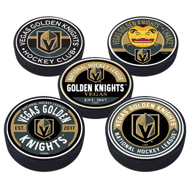 Vegas Golden Knights 5 Puck Pack