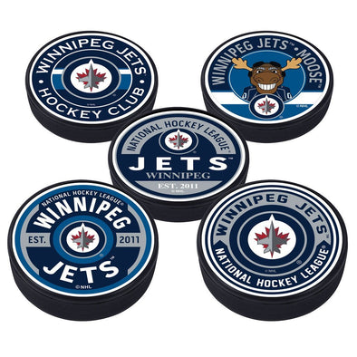 Winnipeg Jets 5 Puck Pack