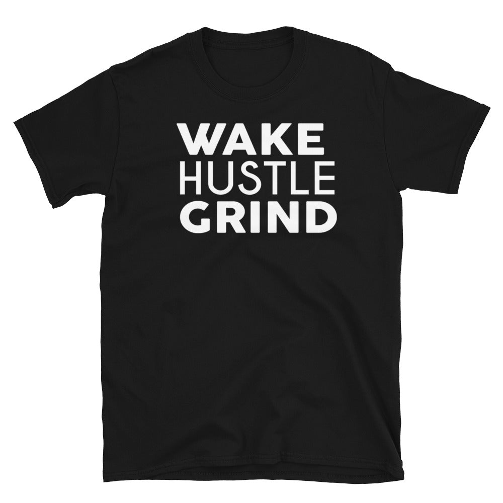 Wake Hustle Grind Basic Membership Tee