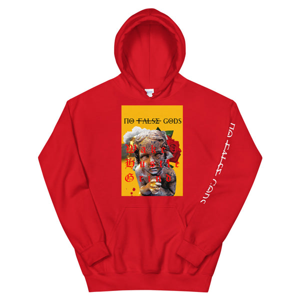 NO FALSE GODS Praying Child Hoodie