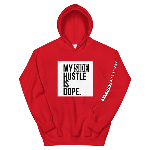 My Side Hustle Is Dope Red Hoodie