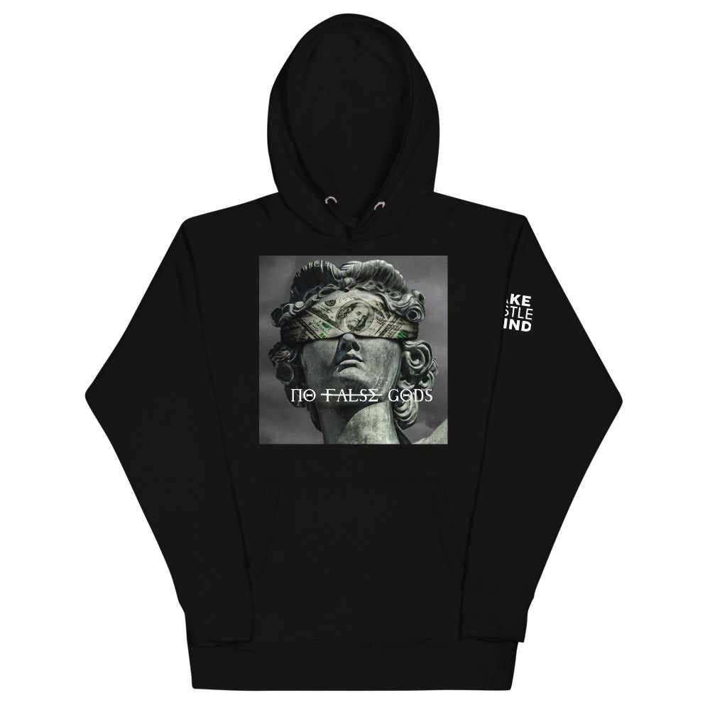 No False Gods Blind Fold Hoodie