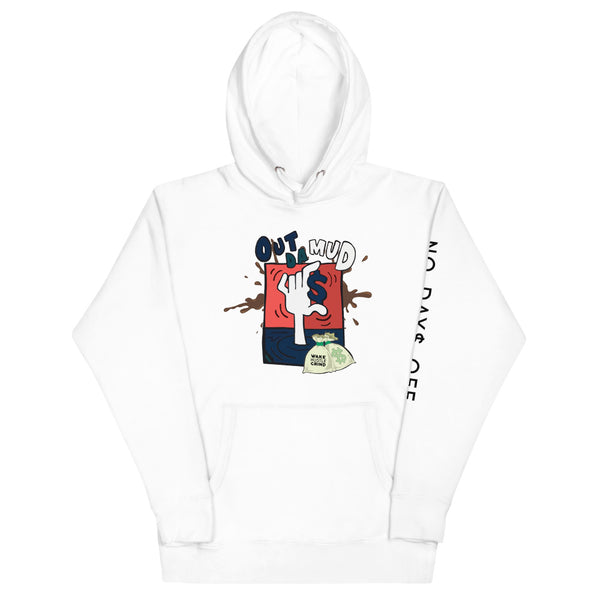 Out The Mud White Hoodie