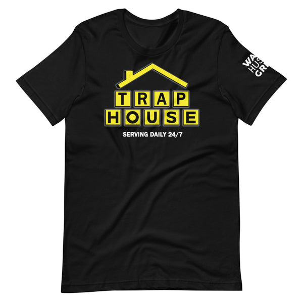 TRAP HOUSE WAKE HUSTLE GRIND TEE