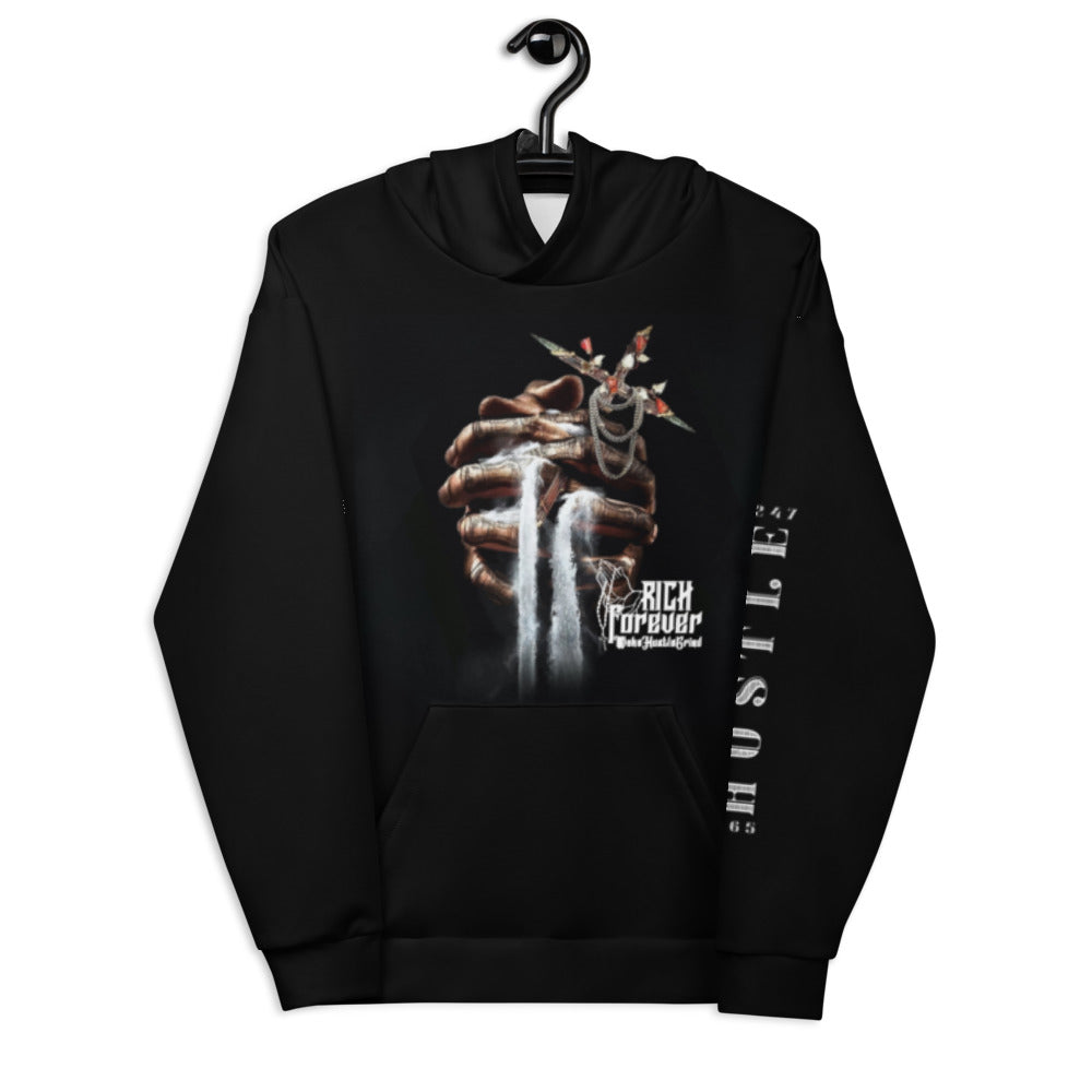 Rich Forever Praying Hand Hoodie