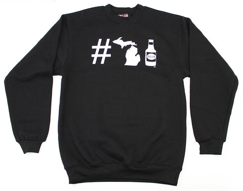 #MICHIGANBEER SWEATSHIRT (CREW)