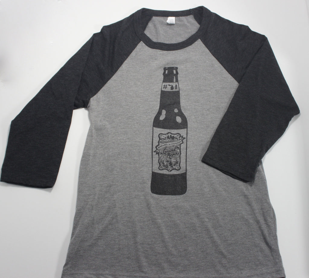 GRAND RAPIDS #MICHIGANBEER  BASEBALL TEE