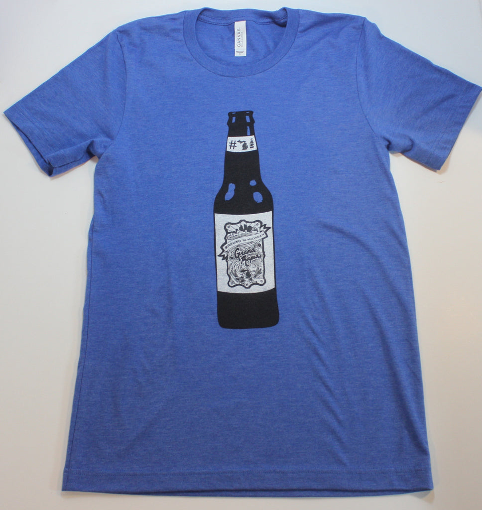 GRAND RAPIDS #MICHIGANBEER LABEL TEE