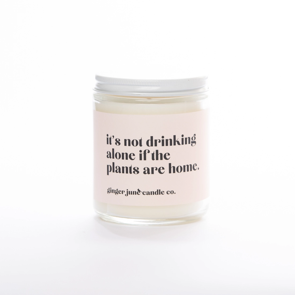 Drinking With Plants Candle