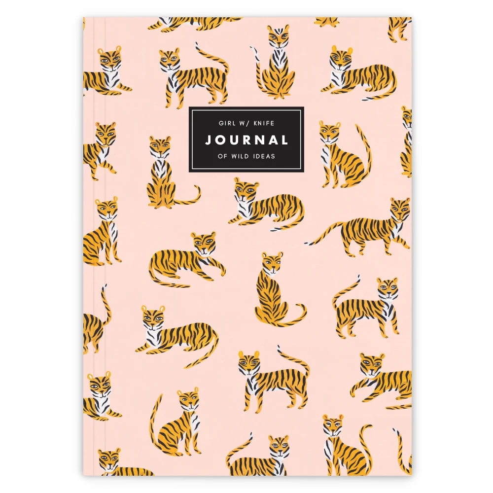 Wild Ideas Tiger Journal