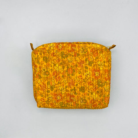 New - Pouch Bag - Vintage Silk
