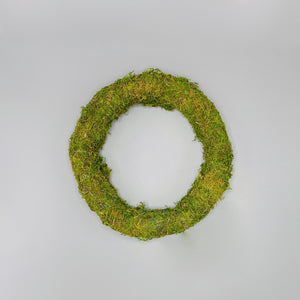 Natural Moss Wreath - N á t t ú r a l