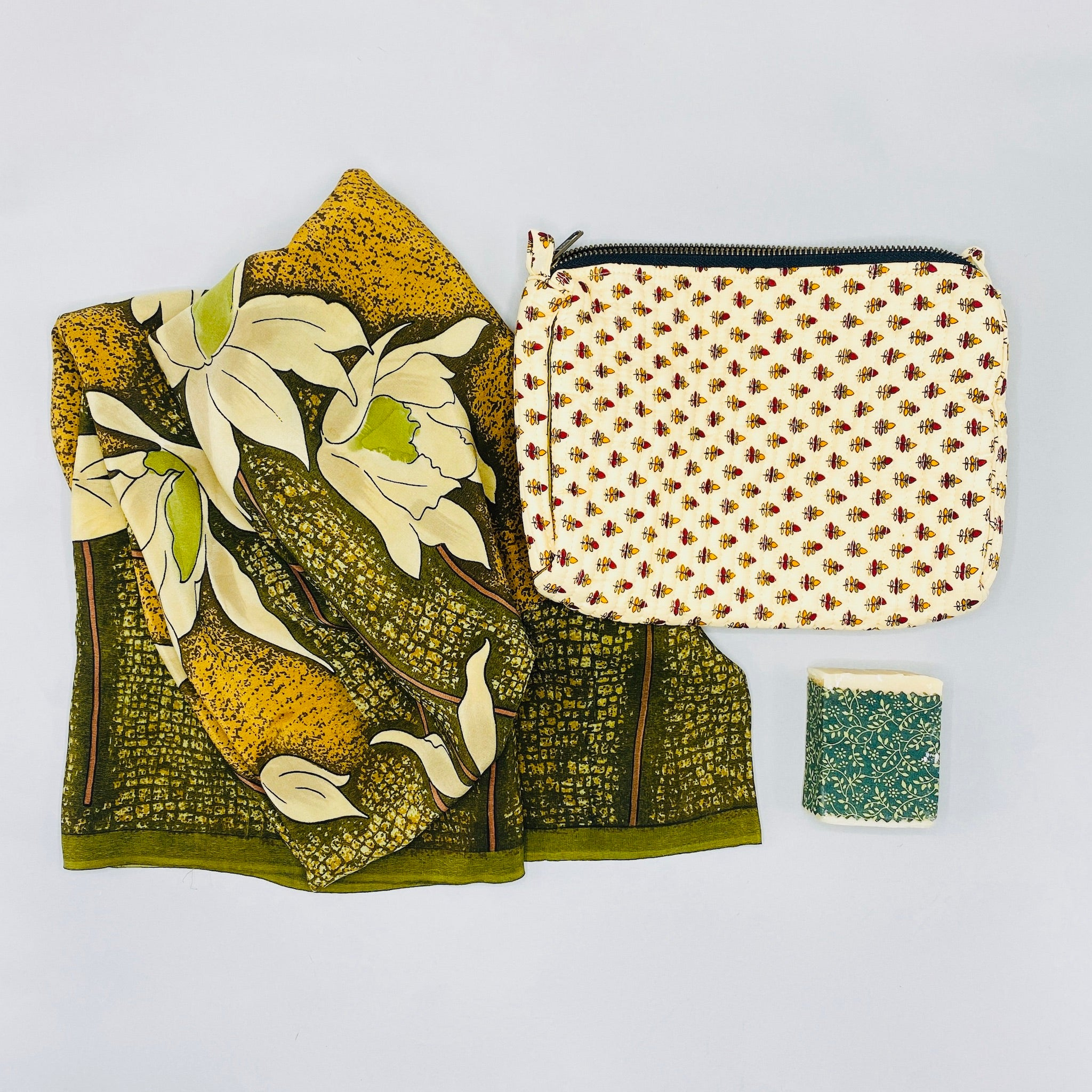 Gift - Purse, Scarf and Soap
