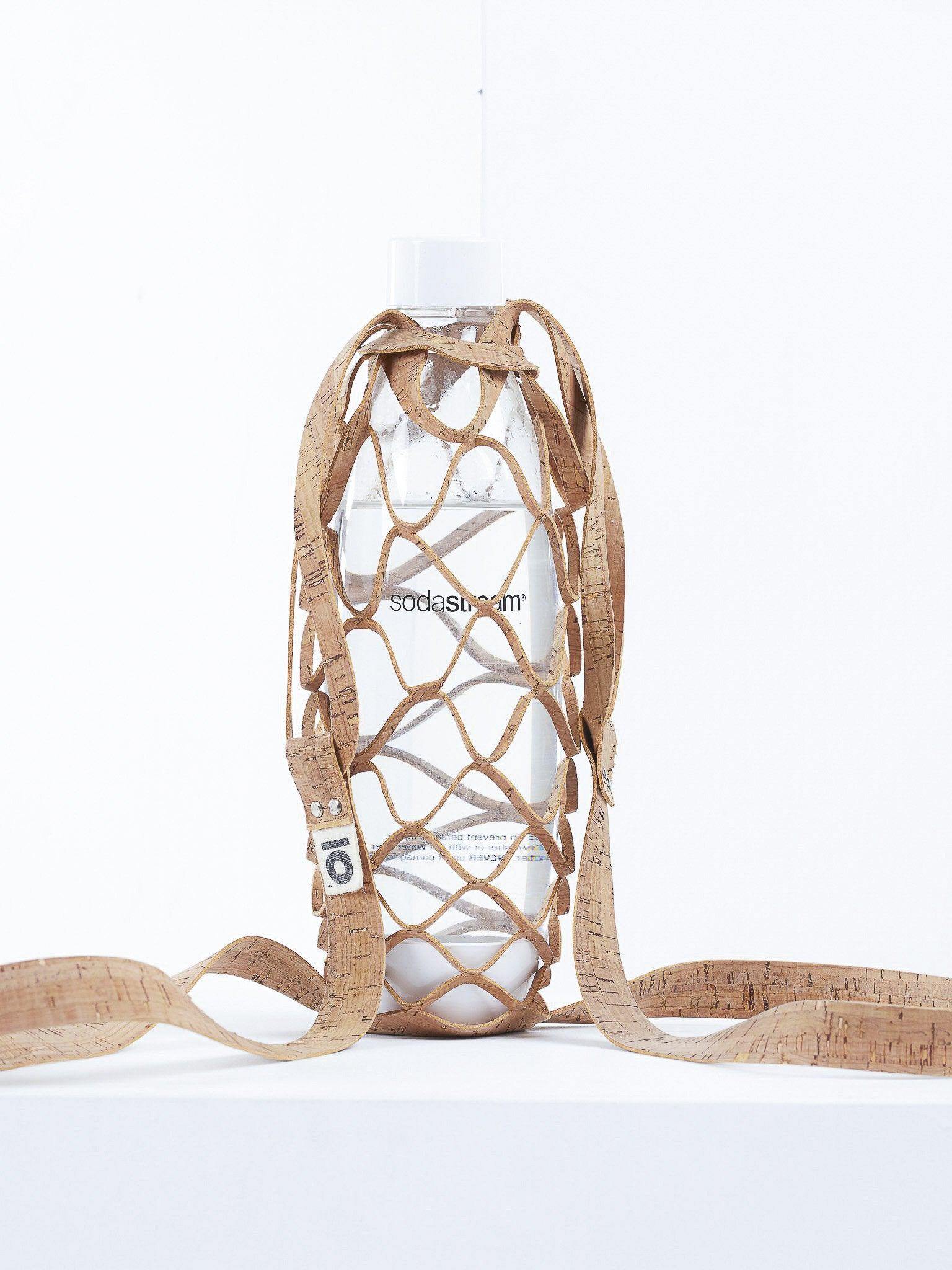 Peta Approved Vegan Cork Leather 1L Bottle Carrier