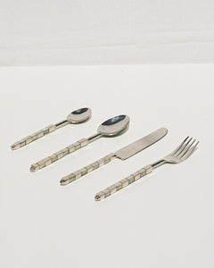 mother of pearl cutlery set