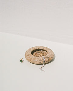 catchall in fossil marble