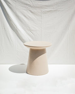 ceramic stool/sidetable