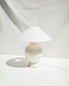 stoneware table lamp