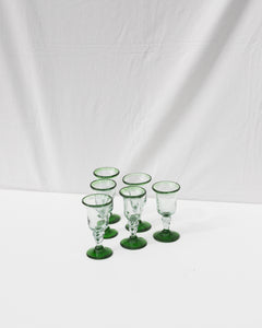 mouthblow goblet set