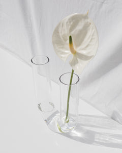 clear arch vase