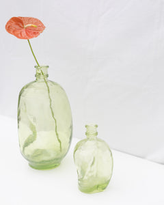 handmade green vase set