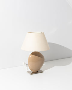 sculptural ceramic table lamp