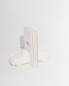 ceramic car bookends