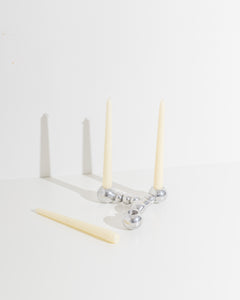 aluminium casted candle holder