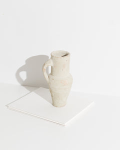 small terra cotta jug