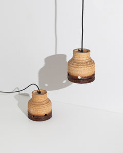 ceramic ceiling lamp set